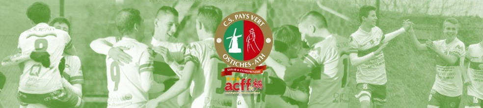CS Pays Vert Ostiches Ath : site officiel du club de foot de Ostiches - footeo