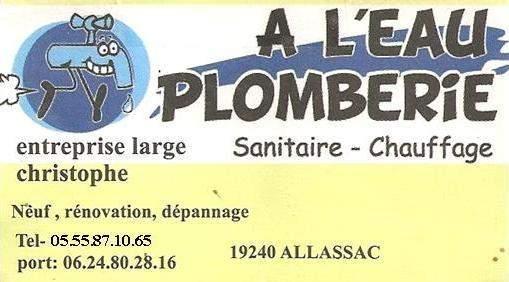 A L'EAU PLOMBERIE