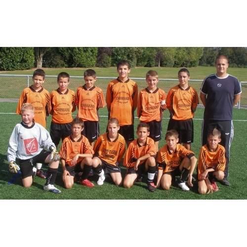 13 ans équipe 2