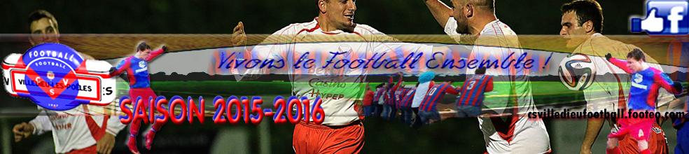 Site Internet officiel du club de football CS Villedieu