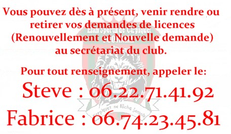 info licence