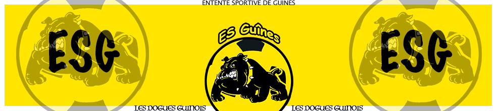 Site Internet officiel du club de football ES GUINES