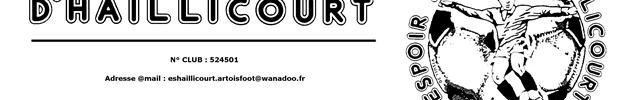 HAILLICOURT . ES : site officiel du club de foot de HAILLICOURT - footeo