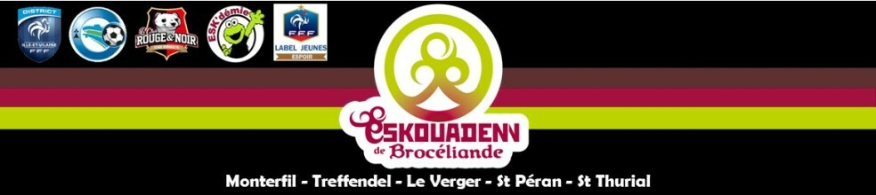 L' ESKOUADENN de BROCELIANDE © club fondé en 2010 : site officiel du club de foot de MONTERFIL - footeo
