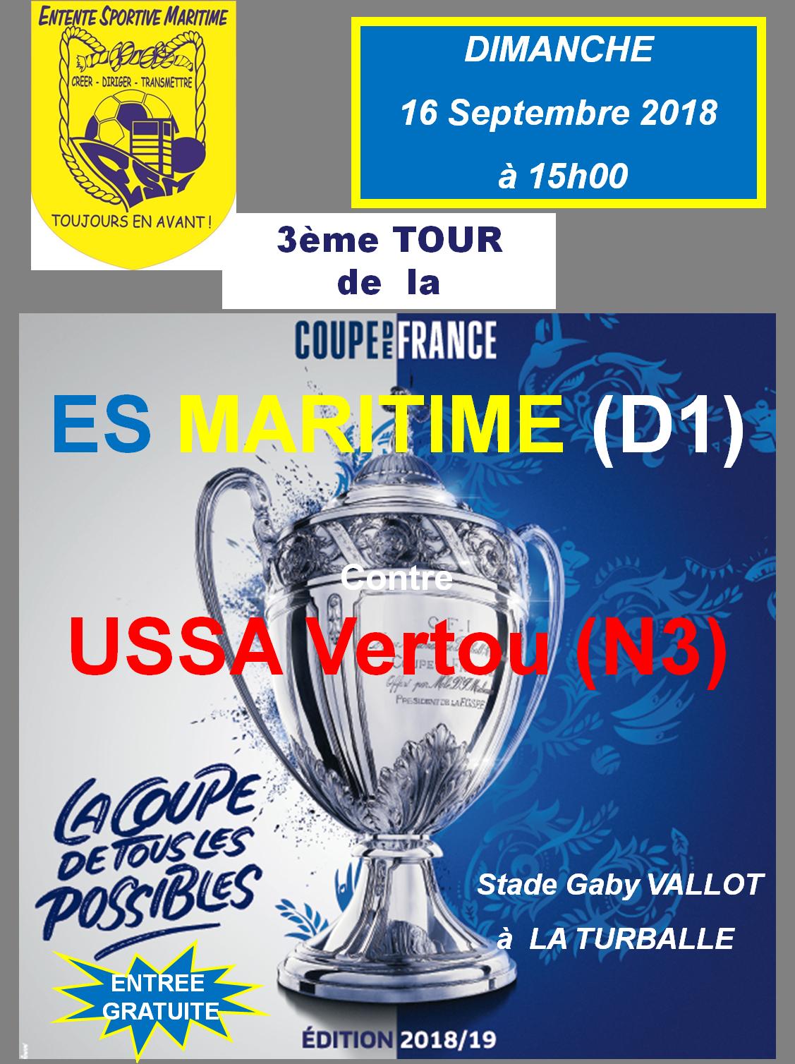 Coupe de France Ussa Vertou