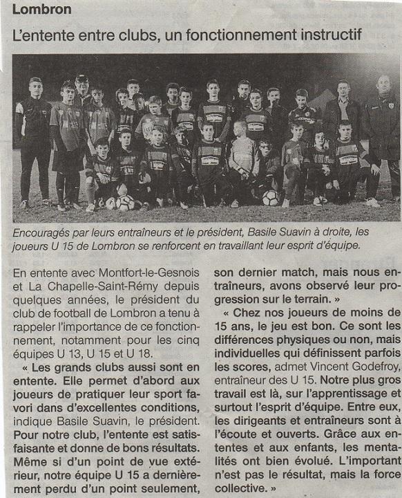 article ouest france du 03 dcembre 2016