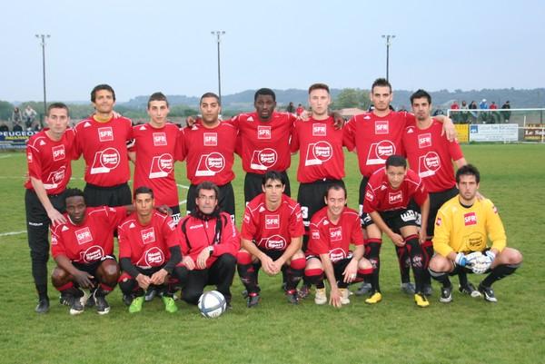 Equipe contre Saint André
