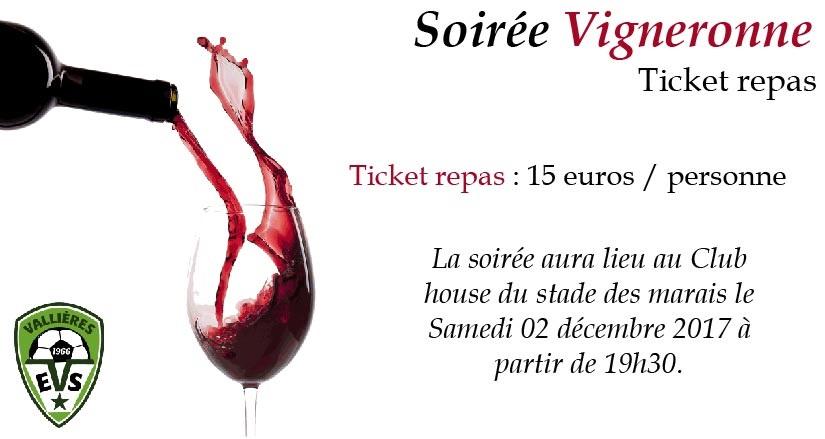 soiree vigneronne