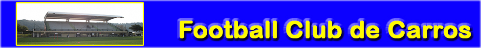 Site Internet officiel du club de football Football Club Carros