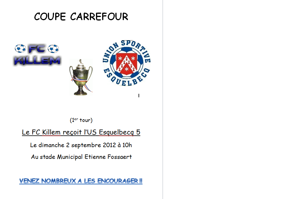 Coupe Carrefour