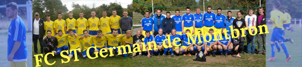 Football Club de Saint-Germain de Montbron : site officiel du club de foot de ST GERMAIN DE MONTBRON - footeo