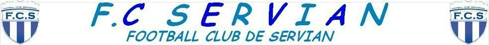 Site Internet officiel du club de football FOOTBALL CLUB SERVIANNAIS
