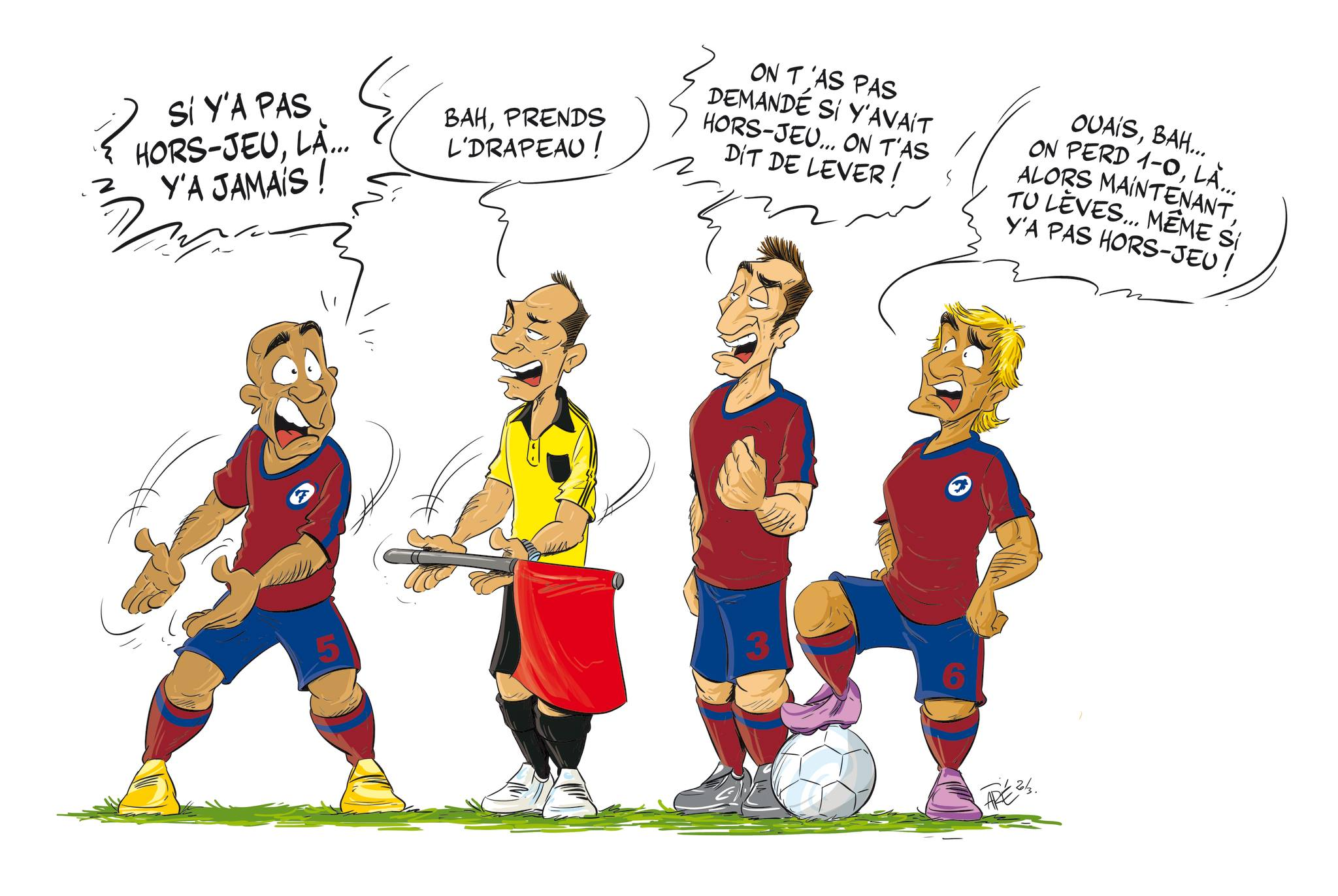 histoire drole foot