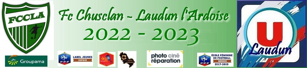 Fc Chusclan Laudun l'Ardoise : site officiel du club de foot de LAUDUN - footeo
