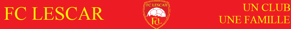 FC Lescar : site officiel du club de foot de LESCAR - footeo