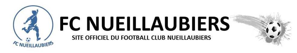FOOTBALL CLUB NUEILLAUBIERS : site officiel du club de foot de NUEIL LES AUBIERS - footeo