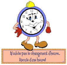 On recule l'aiguille d'une heure pour dormir une heure en plus !