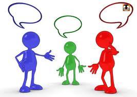 Dialogue rencontre entre deux personnes