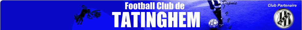 FOOTBALL CLUB DE TATINGHEM : site officiel du club de foot de TATINGHEM - footeo