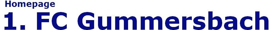 1.FC Gummersbach : offizielle Webseite des  Fussballvereins von Gummersbach - footeo