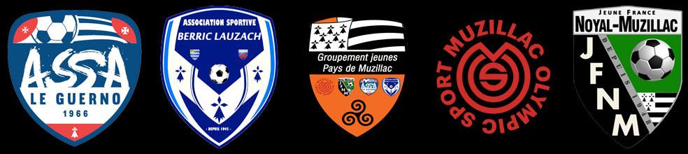 Groupement Jeunes Pays de Muzillac : site officiel du club de foot de MUZILLAC - footeo