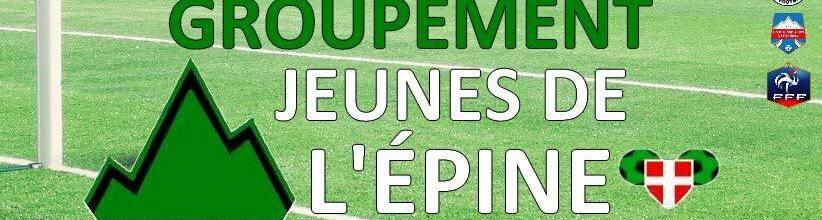 Groupement Jeunes de l'Épine : site officiel du club de foot de  - footeo