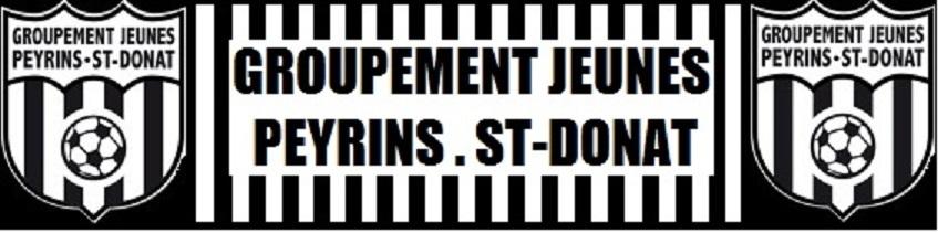 Groupement Jeunes Peyrins St. Donat : site officiel du club de foot de ST DONAT SUR L HERBASSE - footeo