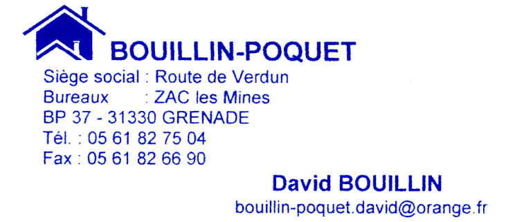 Bouillin poquet club football grenade football club footeo for Garage renault pibrac