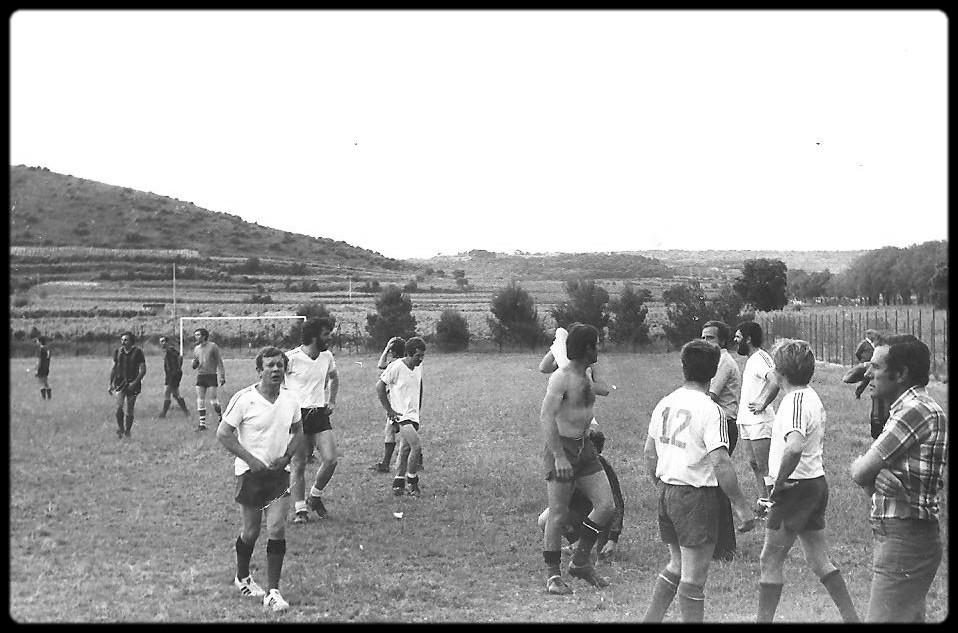 juin 1978 match des anciens (fin du match)