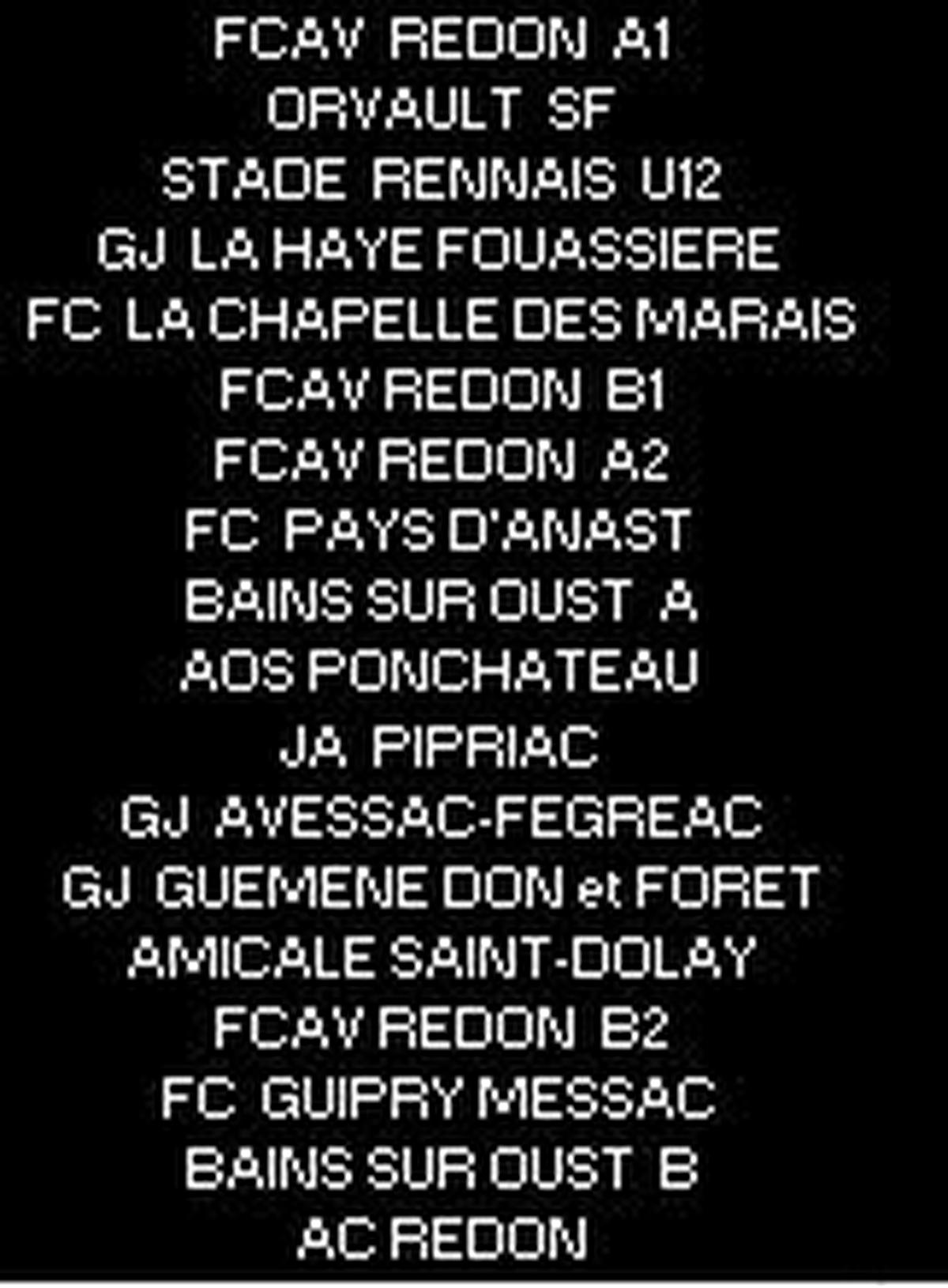 EQUIPES EXCELLENCES...