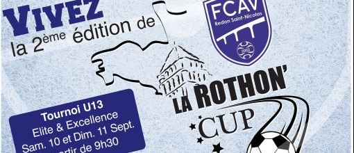 La Rothon'Cup : site officiel du tournoi de foot de REDON - footeo