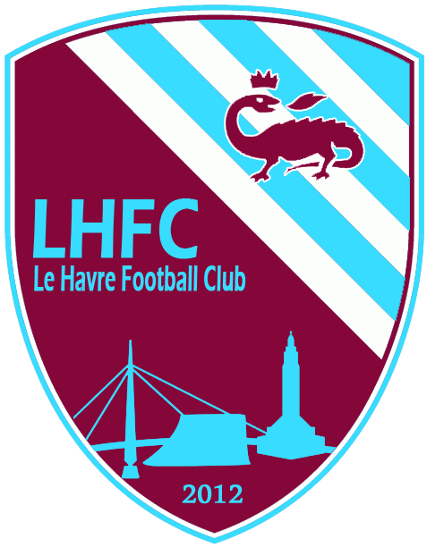Fabuleux LE LOGO DU CLUB - club Football LE HAVRE FOOTBALL CLUB 2012 club  GC53