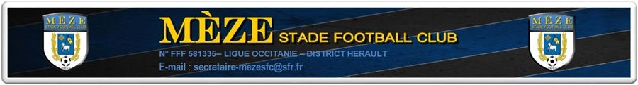 MEZE STADE FOOTBALL CLUB : site officiel du club de foot de MEZE - footeo