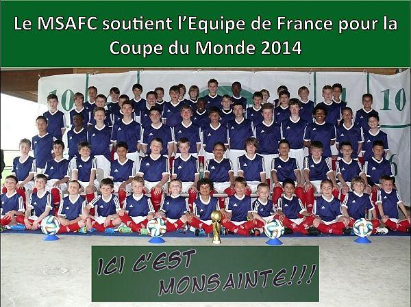 soutien Equipe de France