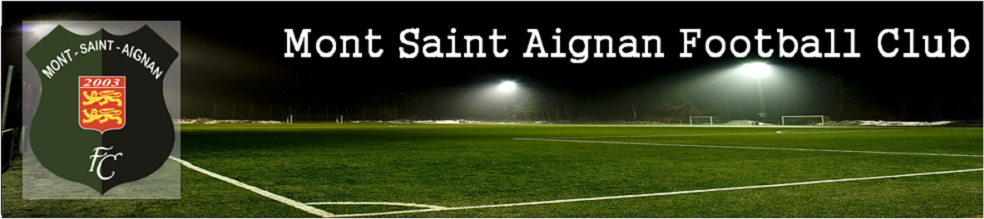 Site Internet officiel du club de football Mont Saint Aignan Football Club
