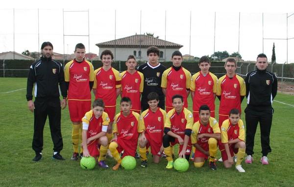 Equipe U15 bon