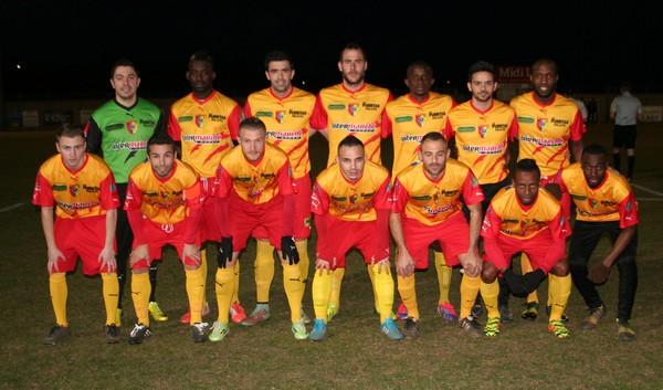 Equipe contre Poussan