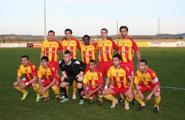 Equipe victorieuse de PerpignanCanet