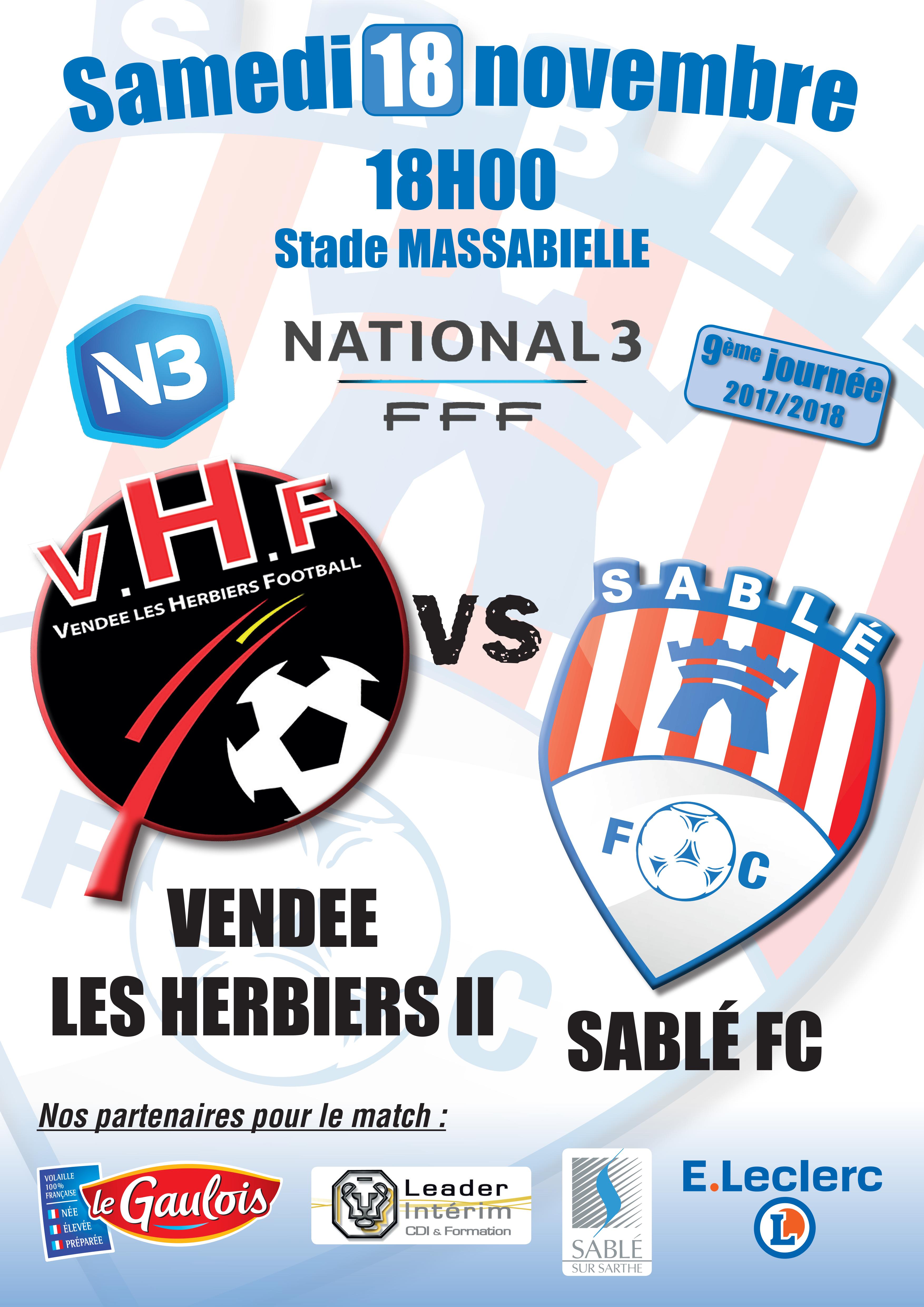 Affiche  Les Herbiers II - Sable FC.jpg