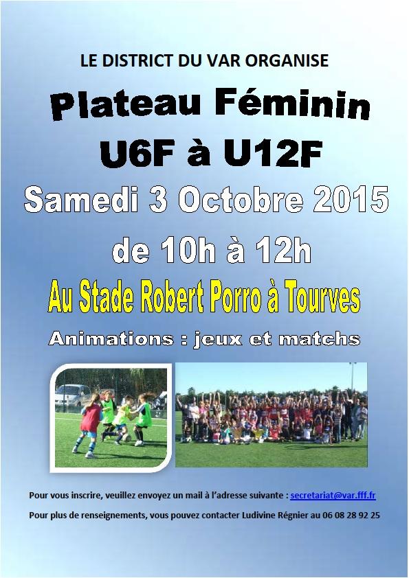 Plateau U6F à U12F