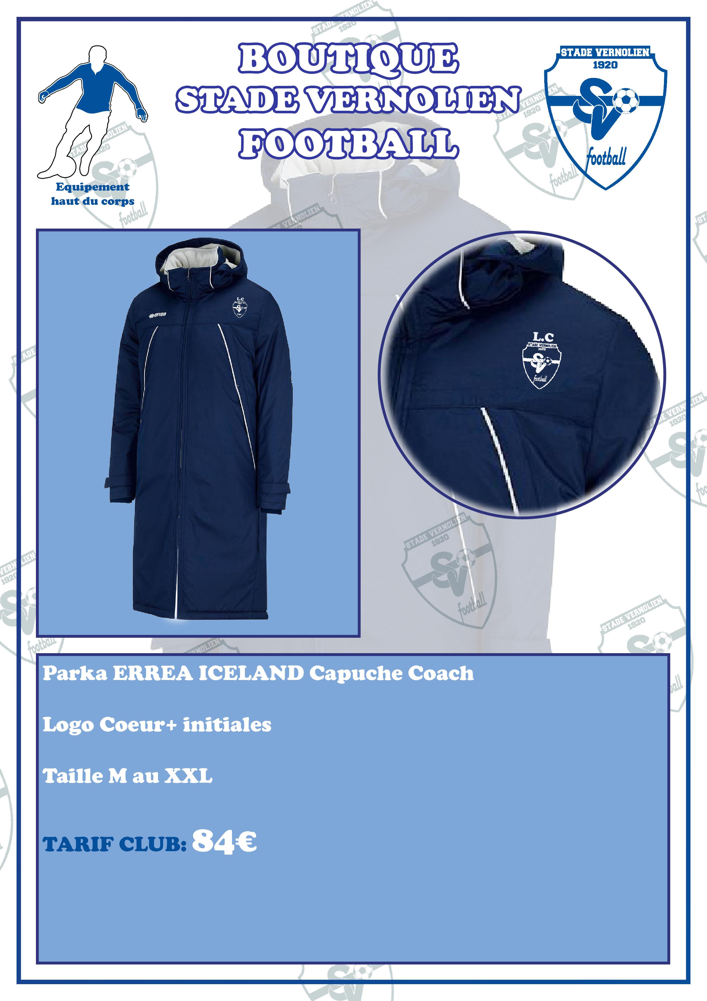 PARKA Coach ICELAND ERREA