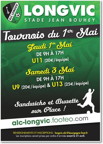 Affiche Tournoi 1er Mai 2014