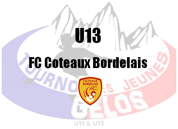 U13 : Coteaux Bordelais FC