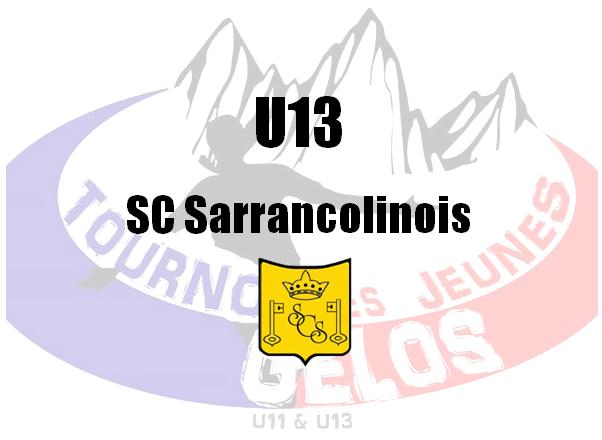 U13 : SC Sarrancolinois