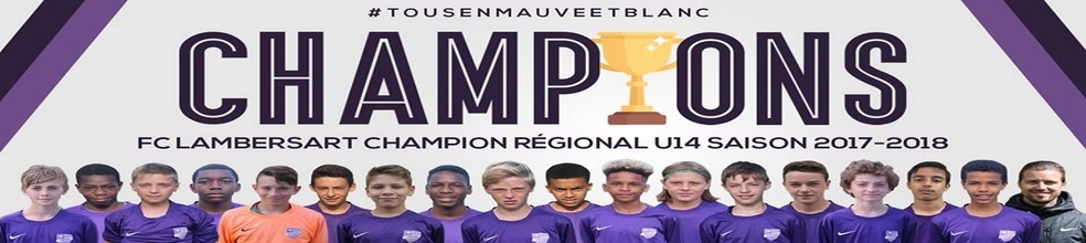 U13 PRELIGUE FC LAMBERSART 2016/2017 : site officiel du club de foot de LAMBERSART - footeo
