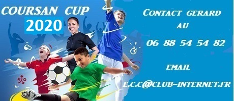 COURSAN' CUP 2018 : site officiel du tournoi de foot de COURSAN - footeo