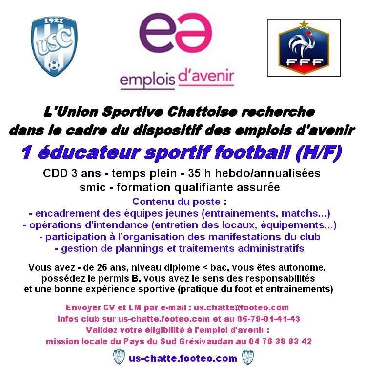 educateur sportif cv educateur sportif cv