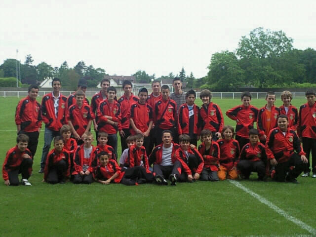Photo des enfants - Tournoi International Bartenheim