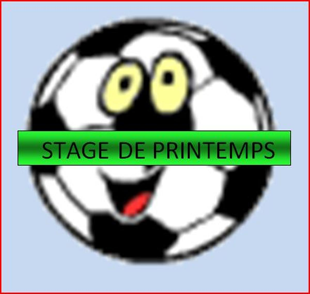 STAGE DE FOOTBALL AVRIL 2014