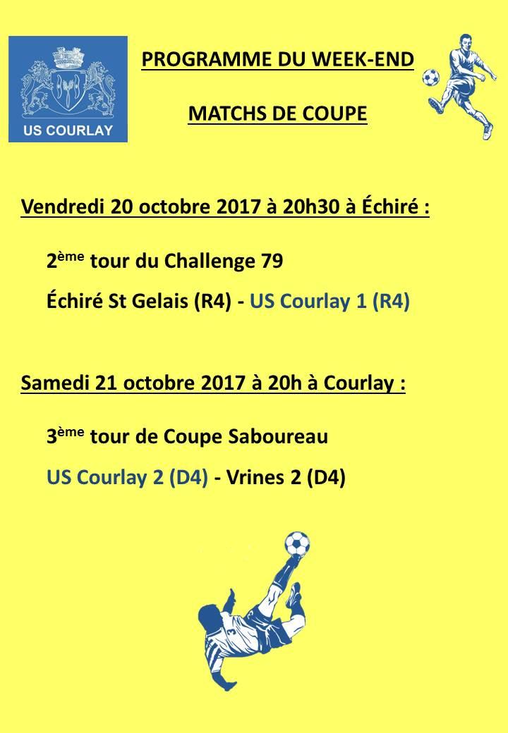 2017_10_19 Matchs_au_programme_du_week_end